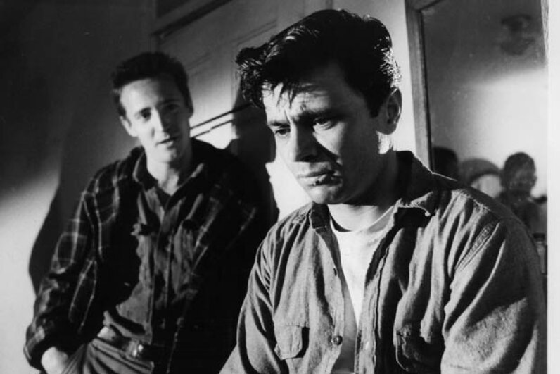 "Scott Wilson and Robert Blake (R) in a scene from the 1967 film ""In Cold Blood."" Latham and York were mentioned in Truman Capote's book which inspired the film. Columbia Pictures/Getty Images"