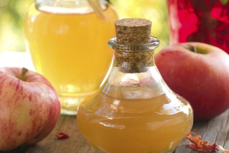 Apple cider vinegar has been used as a health remedy for many years, but it's unwise to base an eating plan around any single ingredient. ©iStock/Thinkstock