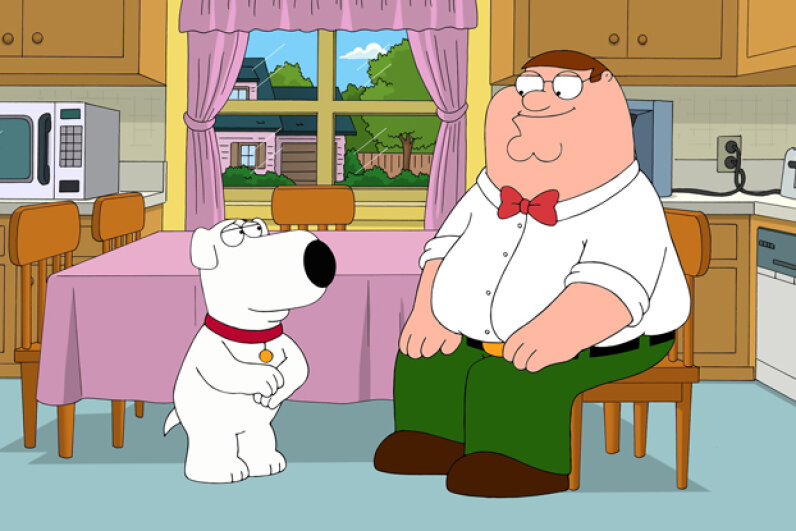 "After its initial cancelation, ""Family Guy"" returned more popular than before. Fox/Getty Images"
