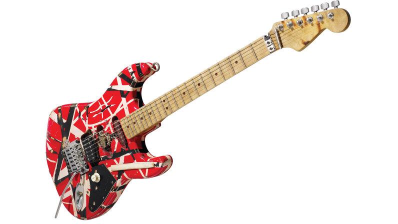 Eddie Van Halen Frankenstrat