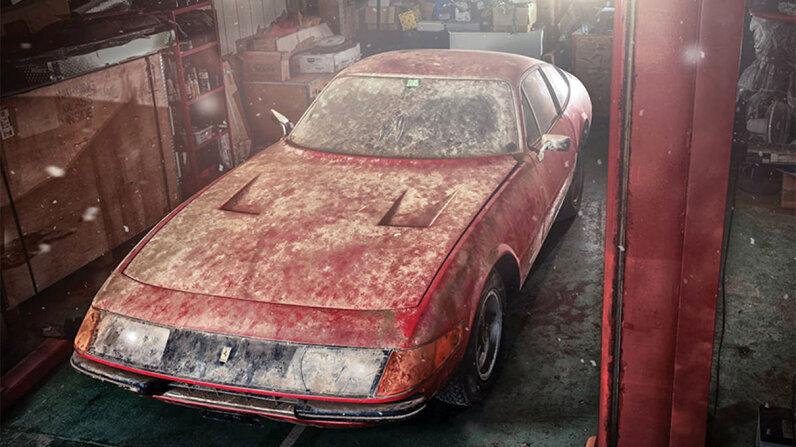 A rare 1969 Ferrari 365 GTB/4 Daytona Berlinetta