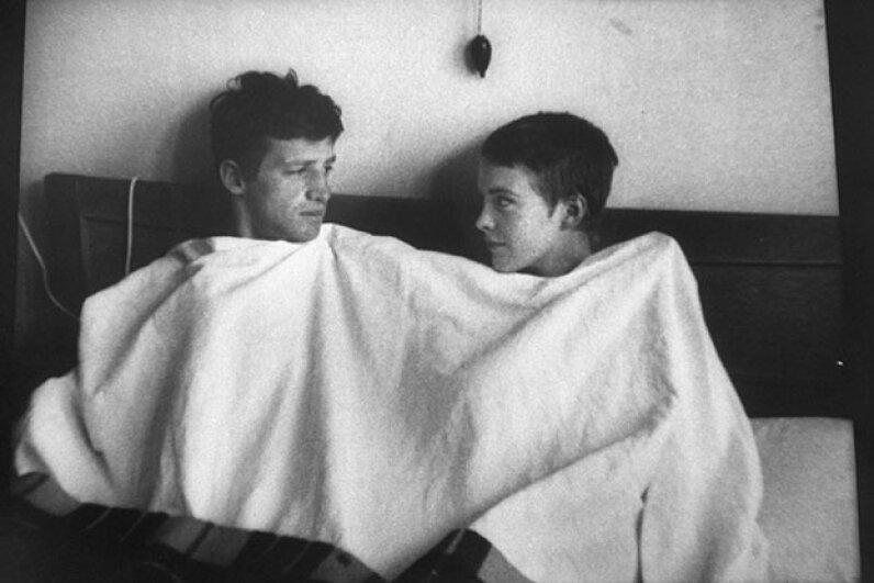 Jean Seberg and Jean-Paul Belmondo, Breathless