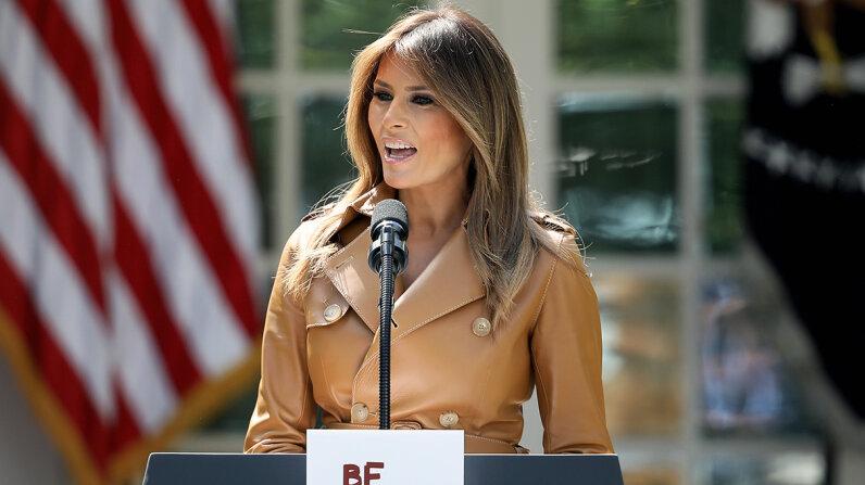 Melania Trump first ladies