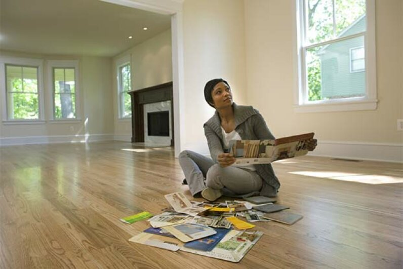 With an FHA loan, you can put a down payment as low as 3.5 percent. David Sacks/Getty Images