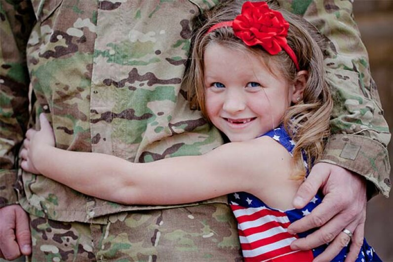 VA loans allow veterans and service people to buy a house with no money down. LucieHolloway/iStock/Thinkstock