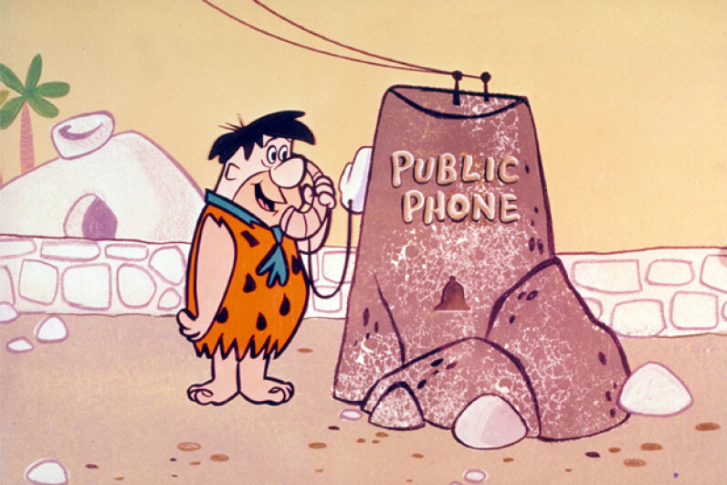 """The Flintstones"" aired in prime time, a rare exception to the typical Saturday-morning cartoon slot. ABC Photo Archives/Getty Images"