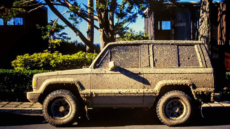 Dirty SUV