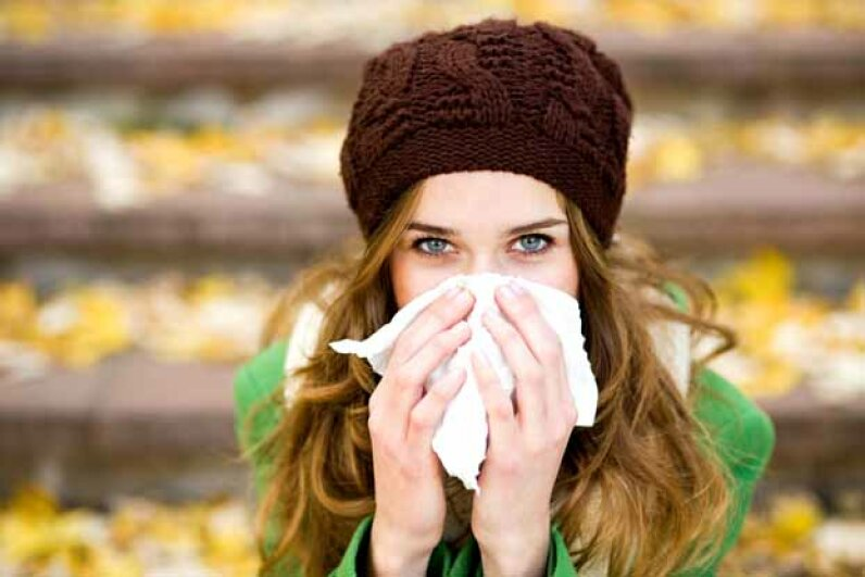 The flu virus weakens the body and makes a person vulnerable to other illnesses, some of which can be fatal. iStockphoto/Thinkstock