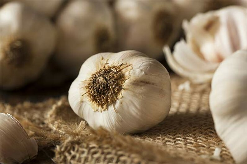 "Garlic was once known as ""Russian penicillin."" bhofack2/iStock/Thinkstock"