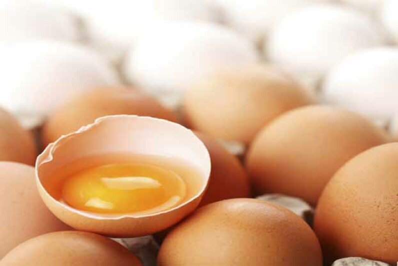There's no direct link between eating eggs and heart disease. iStockphoto/Thinkstock