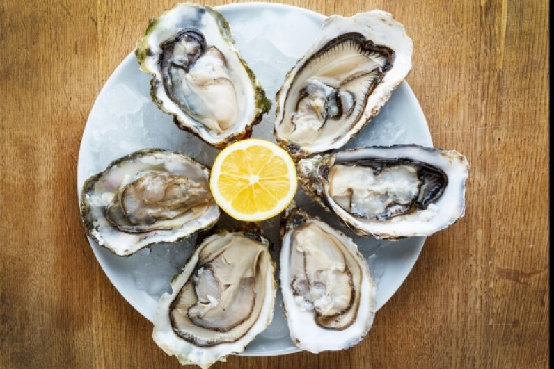 You may love oysters on the half shell, but you probably don't love bacterial infections.  © Boltenkoff/iStockphoto