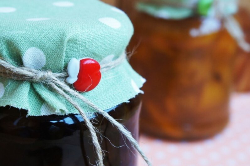 You may love your aunt's home-canned preserves, but if her jars don't seal properly in the process, you could get very sick from eating the contents. © annaratner/iStockphoto