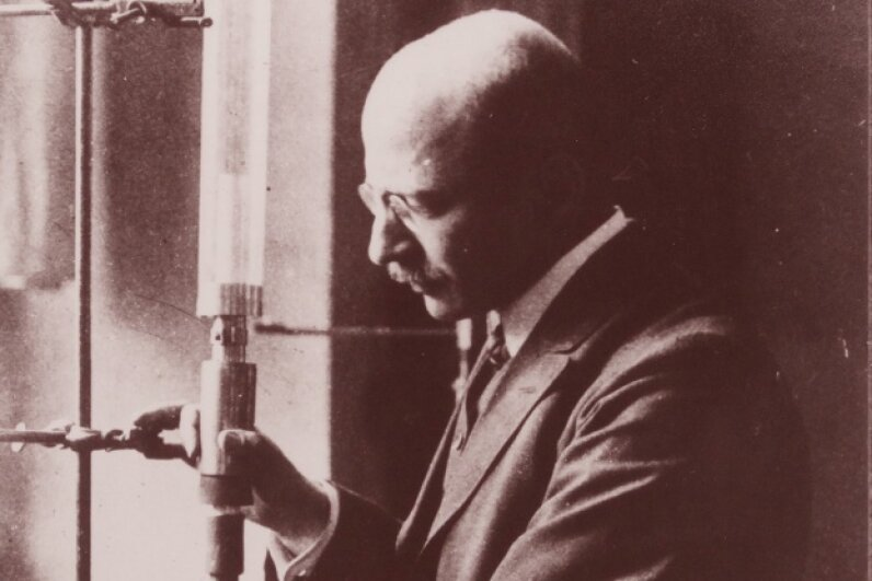 German chemist Fritz Haber invented the process for creating synthetic nitogen fertilizer. Universal History Archive/UIG via Getty Images
