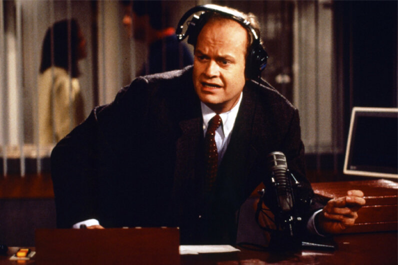 The character of Frasier Crane is a highlight of Kelsey Grammer's long career. NBC/Getty Images