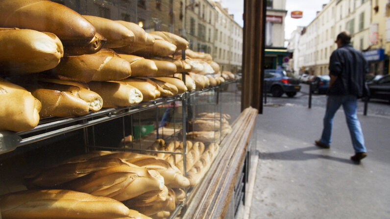How serious are the French about their bread? So serious that the Parisian government was involved in regulating bakery vacation time to ensure baguette availability. Lonely Planet Images/Getty Images