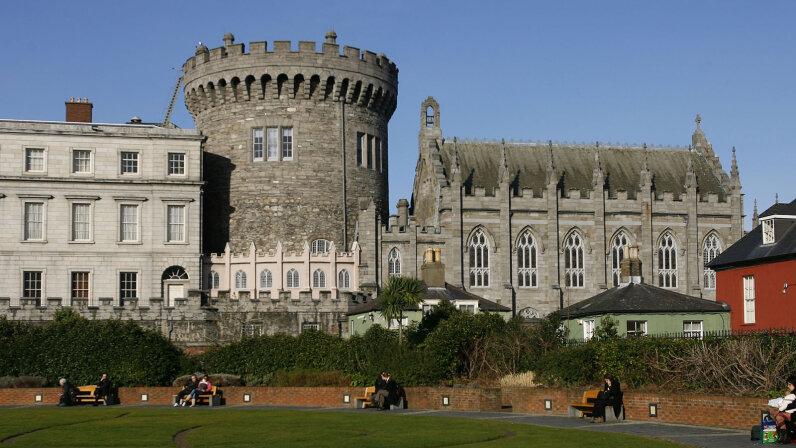 Garda Museum in Dublin Castle