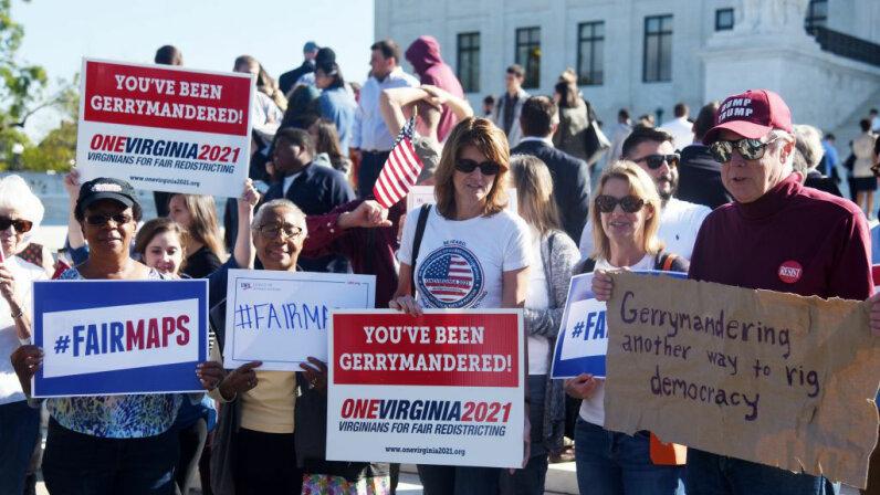 gerrymandering protest, D.C.