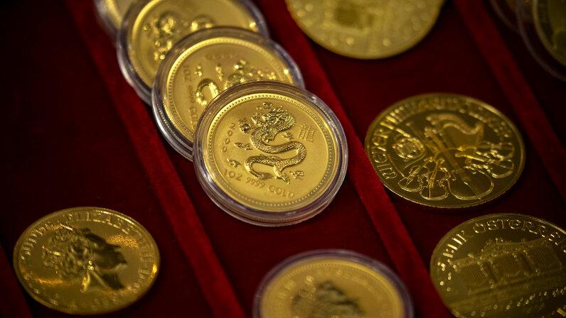 1 ounce bullion gold coins
