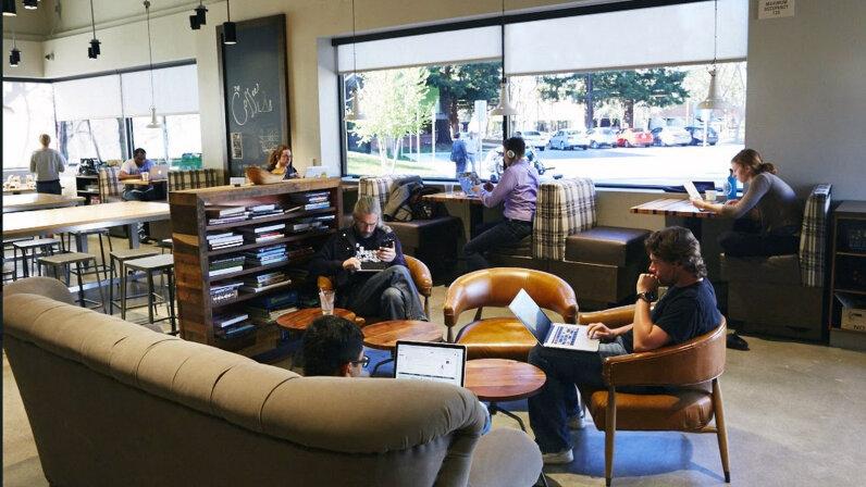 Google café