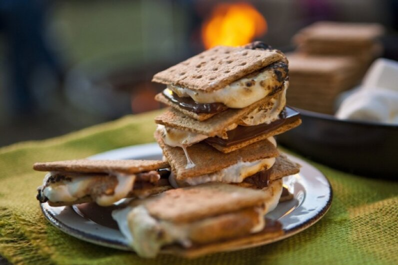 The classic s'more is delicious … but there's room to play with the formula. ©Lew Robertson/Corbis