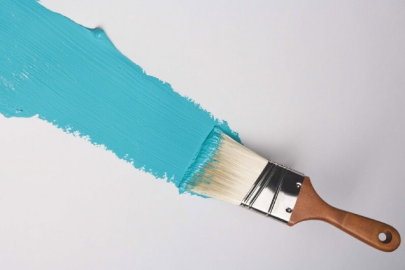 The power of color is often spoken of (at least in paint ads), but the power of the paintbrush is often overlooked. ©Comstock/Thinkstock