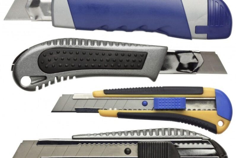 There's a utility knife for every taste and grip preference. ©iStockphoto/Thinkstock