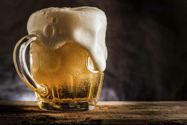 "Benjamin Franklin is supposed to have said, ""Beer is living proof that God loves us and wants us to be happy."" Good thinking, Ben. CarlosAndreSantos/iStock/Thinkstock"
