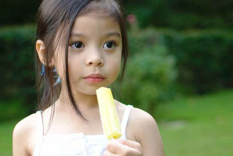 It seems appropriate that a popular kids' treat like Popsicles was invented by a boy who accidentally left a soda drink outside in the winter. CLM Images/Moment/Thinkstock