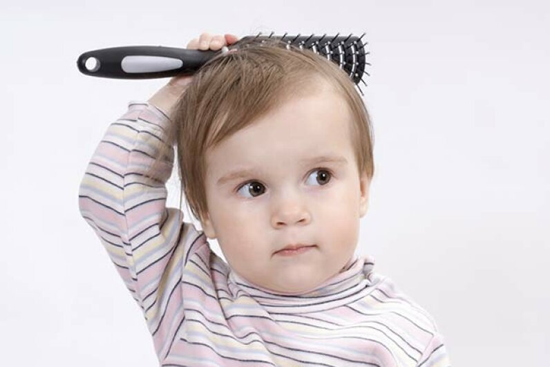While many babies can't sit still, some grownups have the same problem. Avolke/iStock/Thinkstock