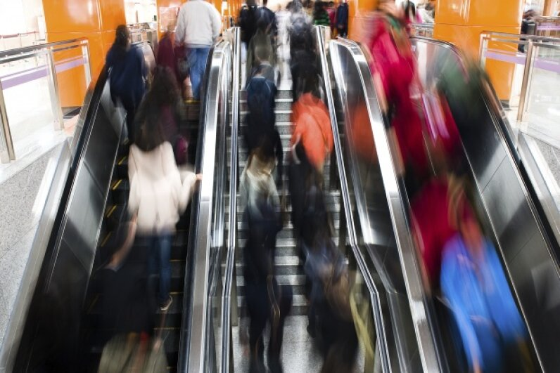 People movers and microbe movers! iStockphoto/Thinkstock