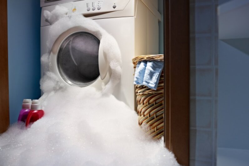 How can germs linger amid all that soap and water? iStockphoto/Thinkstock