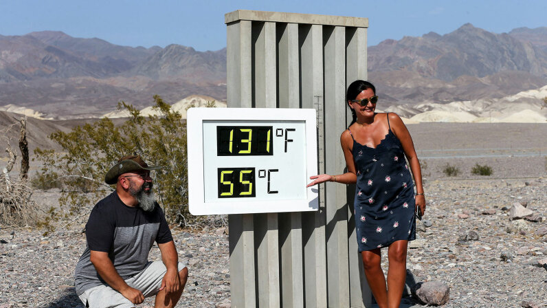 Death Valley, 130 degrees