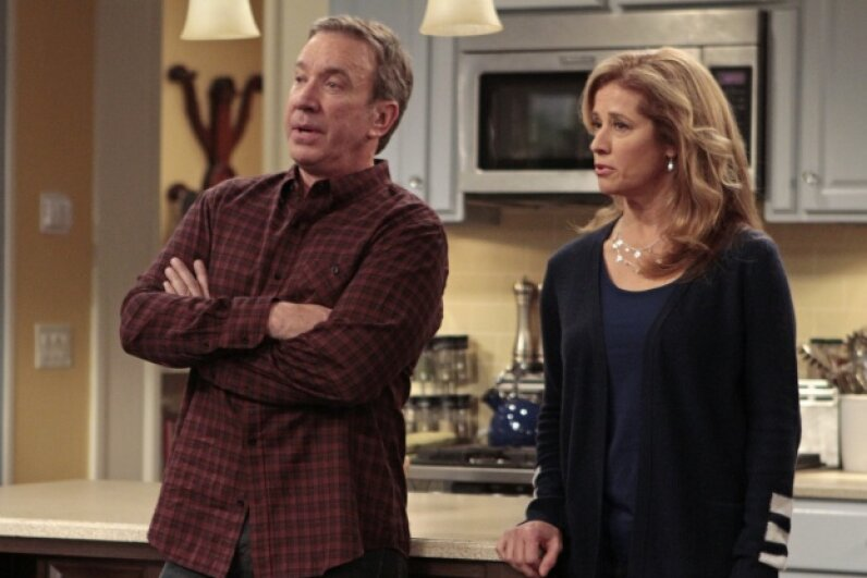 """Tim Allen now stars in a successful comedy, """"Last Man Standing."""" Carin Baer/ABC via Getty Images"""