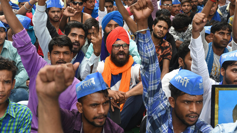 Dalit activists