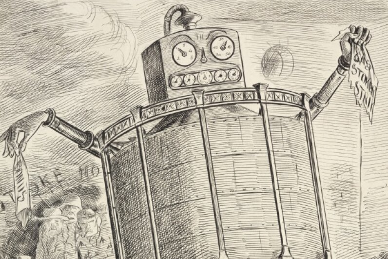 Some historical representations of robots are silly, but there are many examples of automata from the past that are no joke.  © SSPL/Getty Images