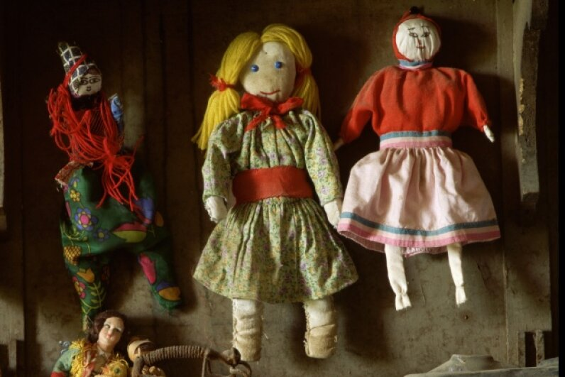Rag dolls have been around since the 1st century, but not many have survived because of their fragile materials. © Enzo & Paolo Ragazzini/CORBIS