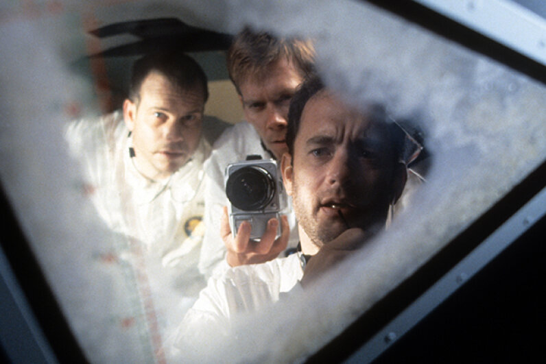 Very little drama had to be invented to depict the story of the Apollo 13 astronauts. Universal/Getty Images