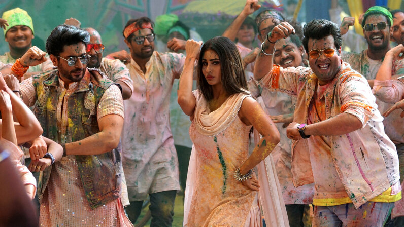 Holi Song Shoot