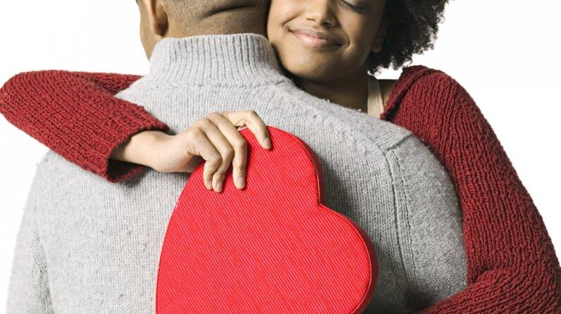 Valentine's Day hug