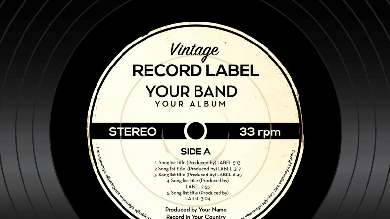 record label