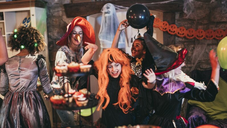 Throw a spooktacular party with these ideas!  Solstock/Getty Images