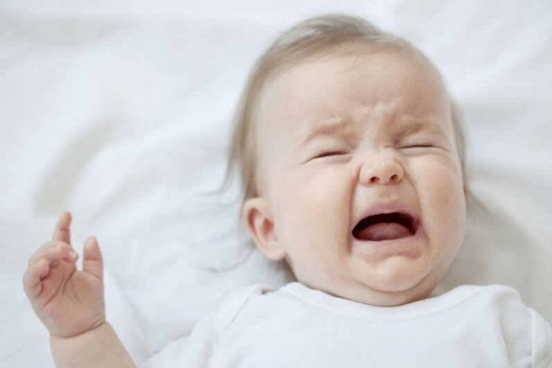 Conditioning a baby to be fearful and upset is definitely a jerk move. ©Tamara Dragovic/iStock/Thinkstock