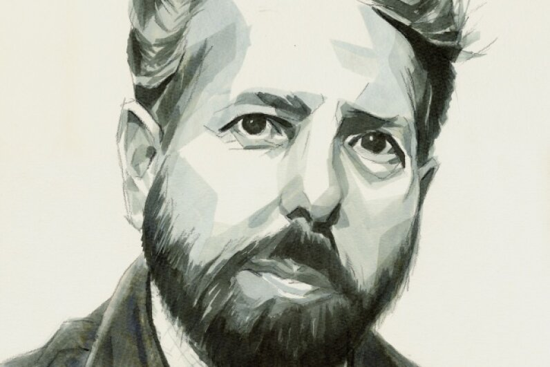 A portrait of Stanley Milgram © Jan Rieckhoff/ullstein bild via Getty Images