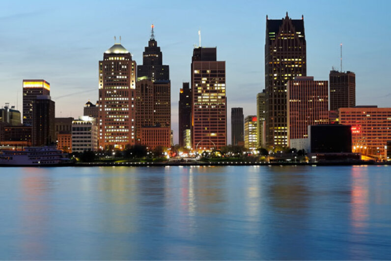 VIVACE could find its first home in the Detroit River. iStockphoto/Thinkstock