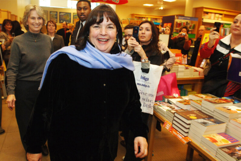 Cookbook author, television host and socialite Ina Garten got her culinary start with a specialty food store. Vince Talotta/Toronto Star/Getty images