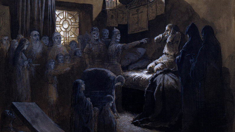 'Ivan the Terrible and the Ghosts of His Victims'