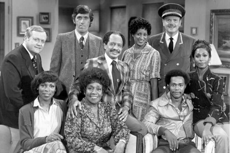 """The Jeffersons"" was one of many television shows that got its start thanks to ""All in the Family."" Michael Ochs Archives/Getty Images"
