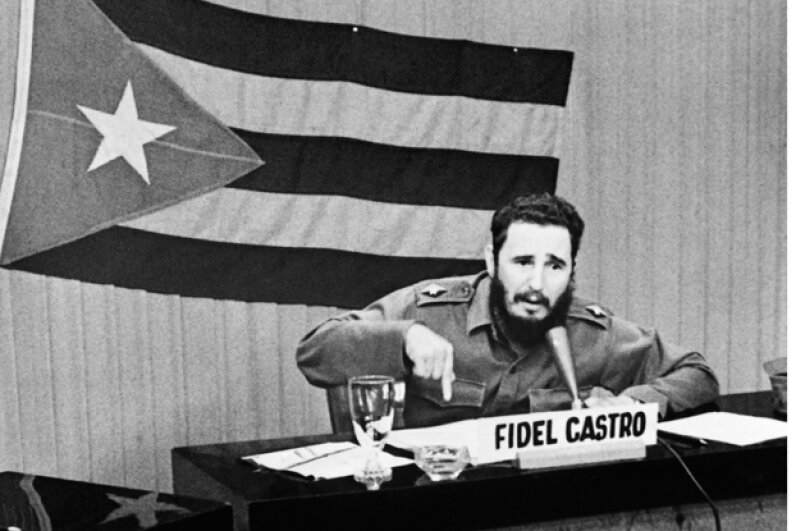 "Though some thought that Castro might have had Kennedy killed in retaliation for the U.S. trying to kill him, Castro said doing so would have been ""absolute insanity"" because the U.S. might have attacked Cuba afterwards. Keystone-France/Gamma-Keystone via Getty Images"