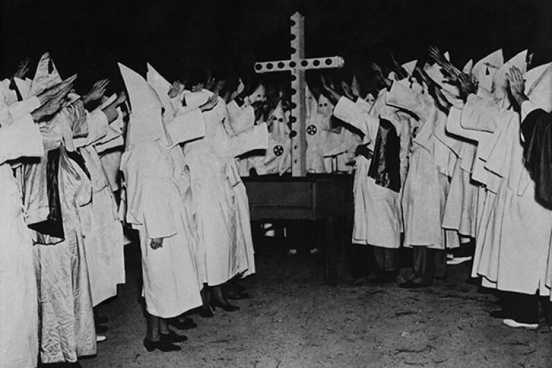 In the post-Reconstruction South, the Ku Klux Klan used violence and  killings to keep blacks from voting. Keystone-France/Gamma-Keystone via Getty Images