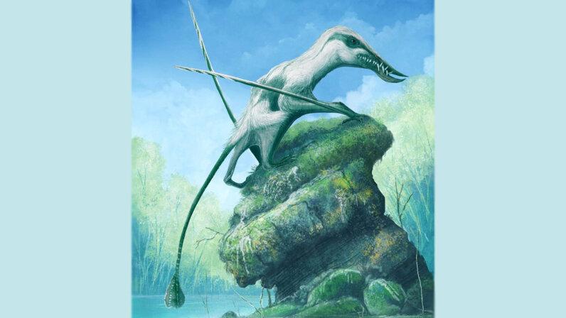 Klobiodon pterosaur